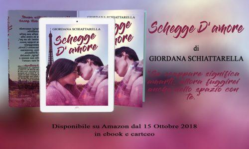 Cover reveal: Schegge d'amore di Giordana Schiattarella