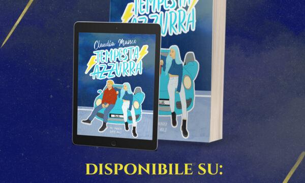 Cover Reveal: Tempesta Azzurra di Claudia Manco